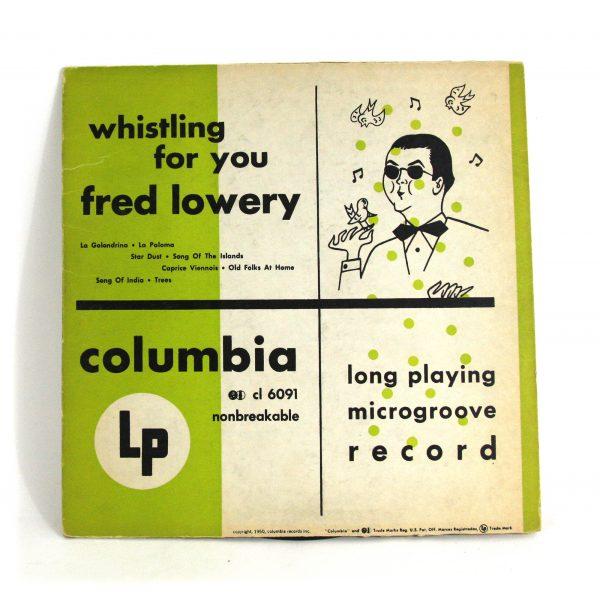 LP-FredLowery-WhistlingForYou Jpg