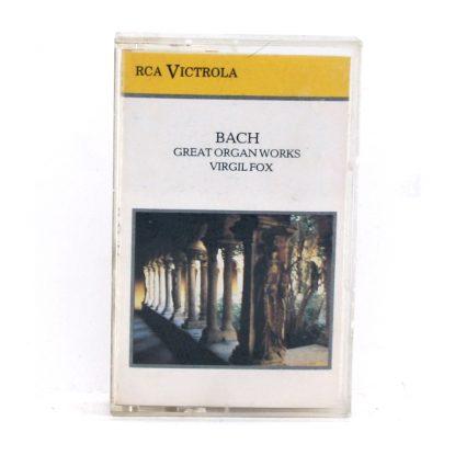 Bach - Great Organ Works - Virgil Fox - Cassette