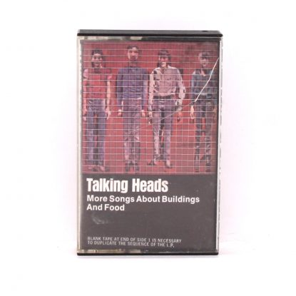 Talking Heads - More Songs About Buildings and Food - Cassette