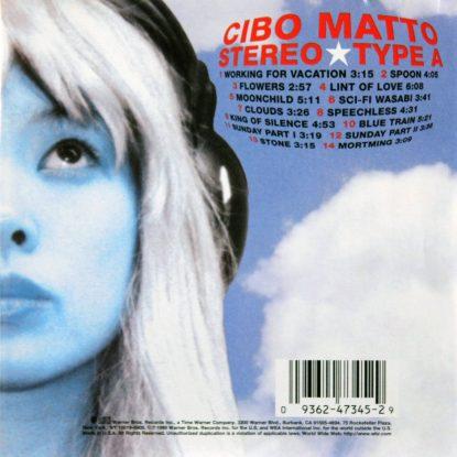 Cibo Matto - Stereo Type A - CD