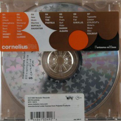 Cornelius - Fm - Fantasma Remixes - CD