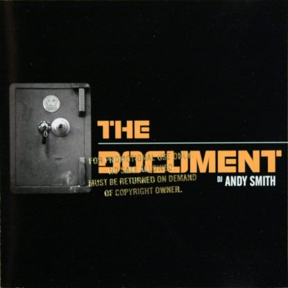 DJ Andy Smith - The Document - CD