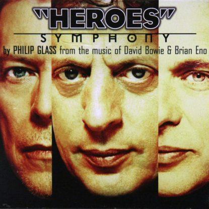 "Philip Glass - ""Heroes"" Symphony - CD"