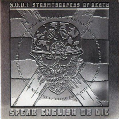 Stormtroopers Of Death - Speak English Or Die - CD