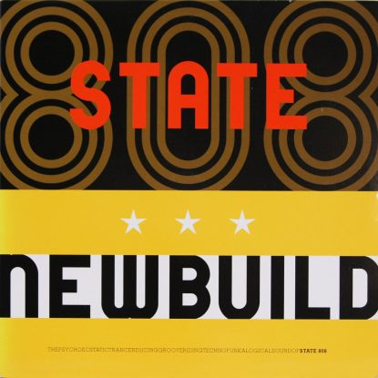 808 State - Newbuild - Vinyl