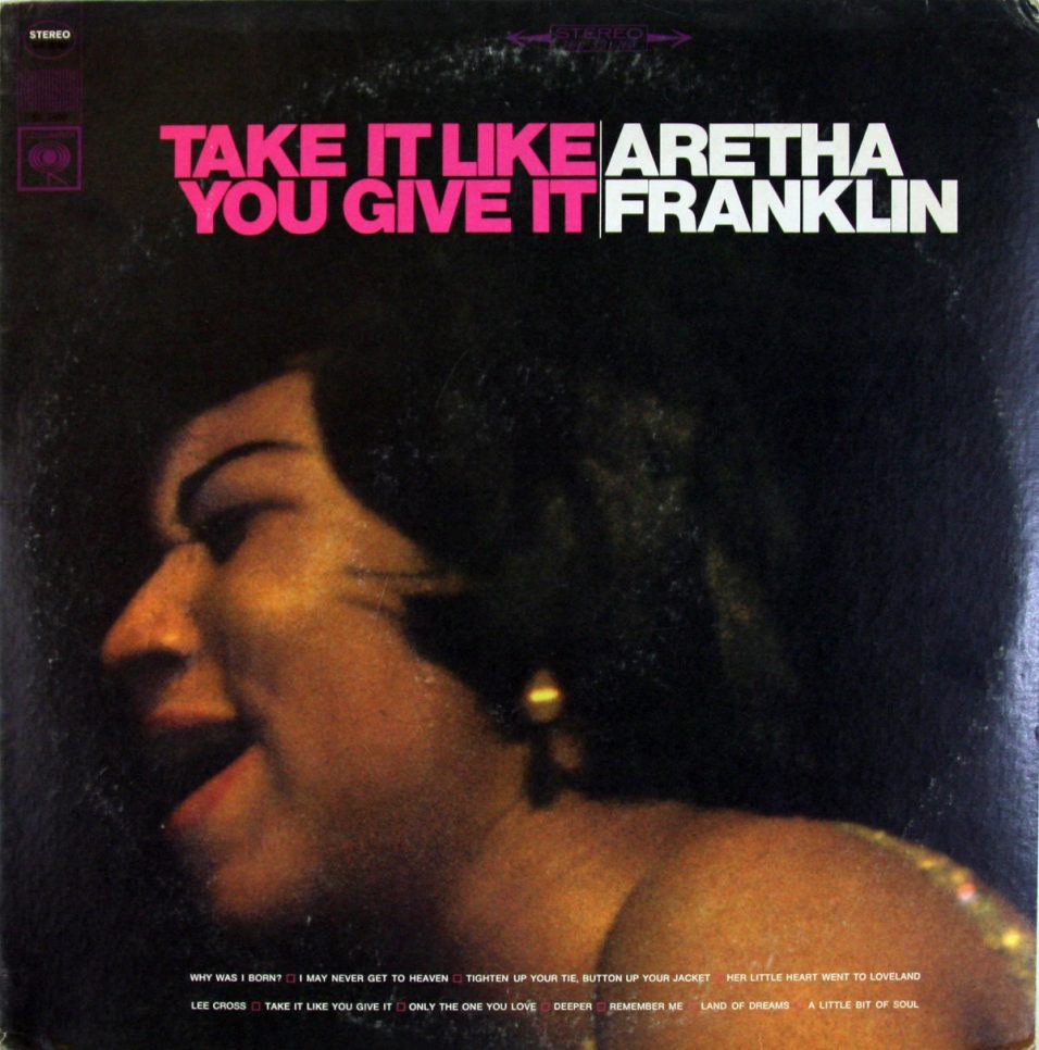 Aretha Franklin - Take It Like You Give It - Vinyl
