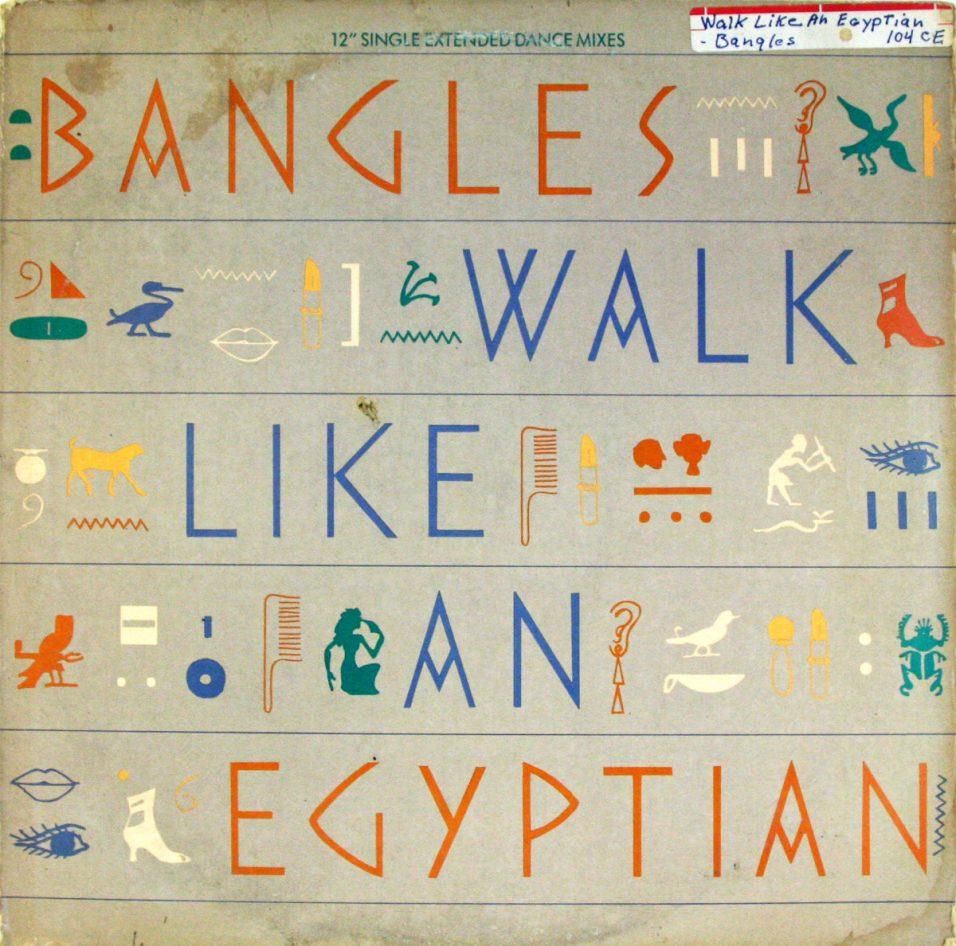 Bangles - Walk Like an Egyptian - Vinyl