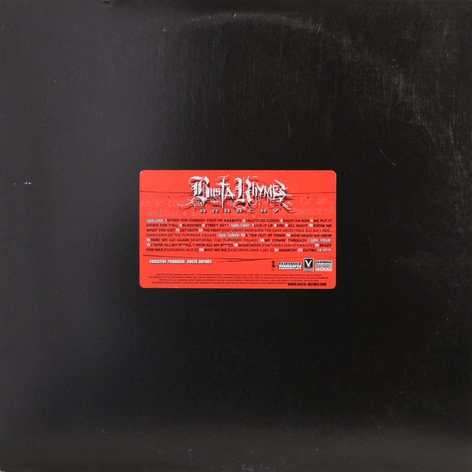 Busta Rhymes - Anarchy - Vinyl