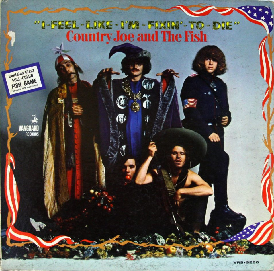 Country Joe and The Fish - I Feel Like Fixin' To Die - Vinyl