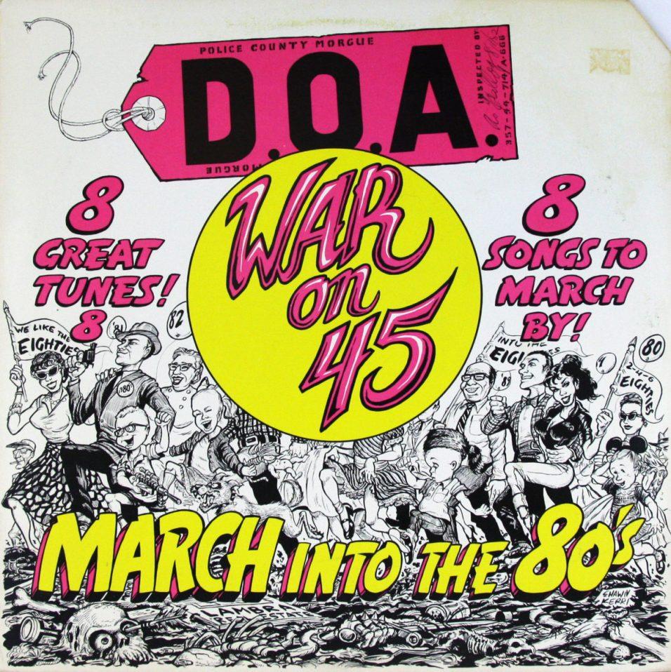 D.O.A. - War On 45 - Vinyl