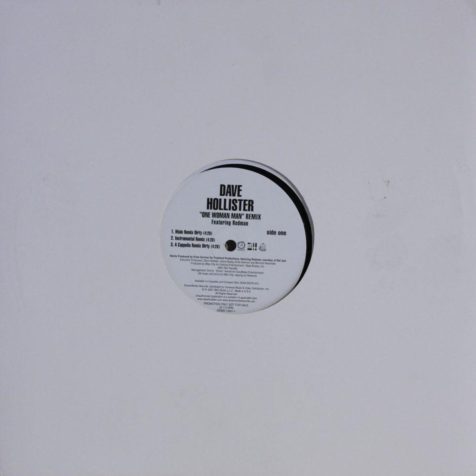 Dave Hollister - One Woman Man - Vinyl
