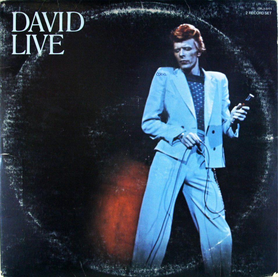 David Bowie - David Live - Vinyl