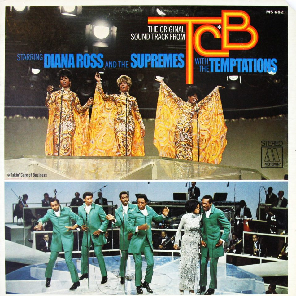 Diana Ross and the Supremes and the Temptations - TCB Soundtrack - Vinyl