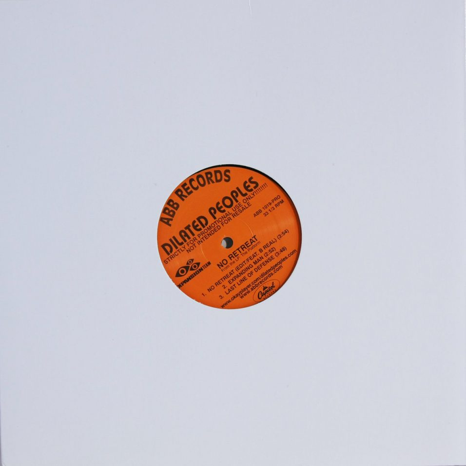Dilated Peoples - No Retreat - Vinyl