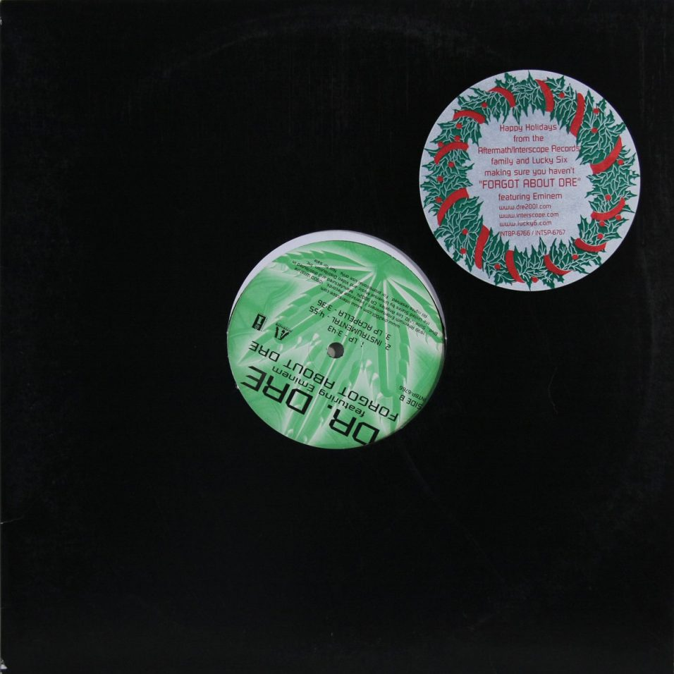 Dr. Dre - Forgot About Dre - Vinyl