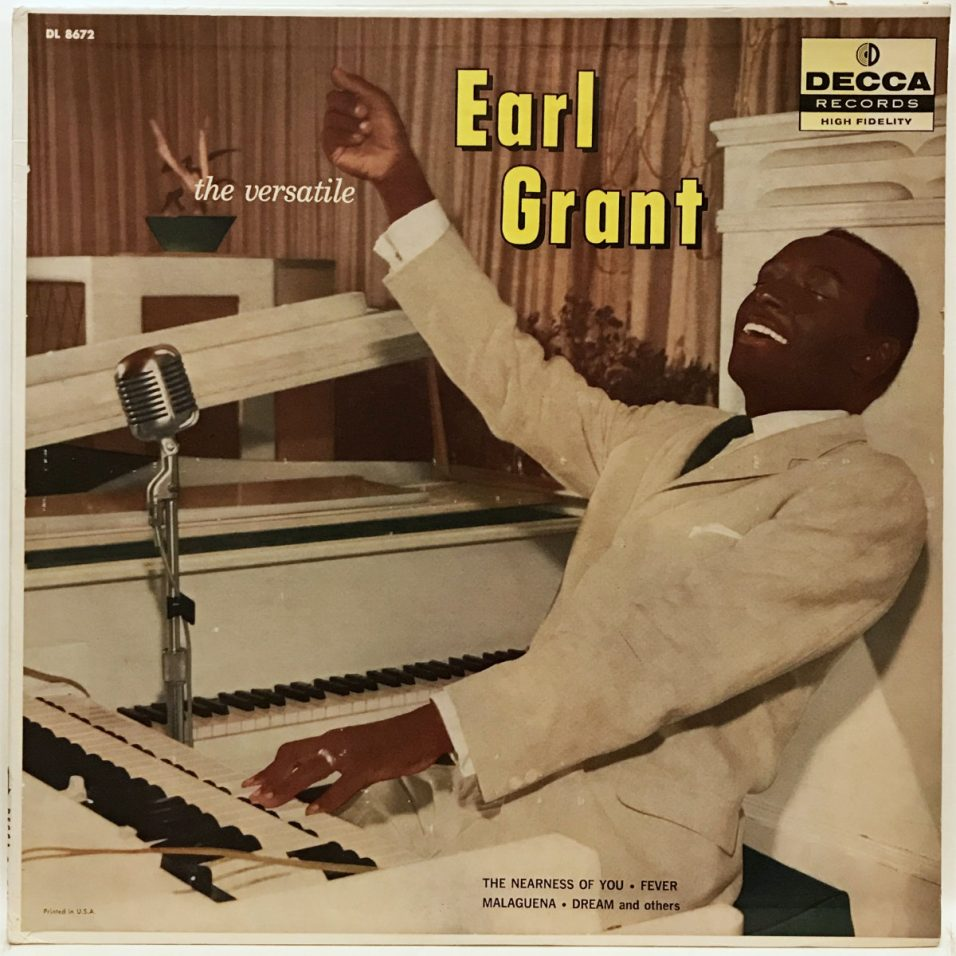 Earl Grant - The Versatile Earl Grant - Vinyl