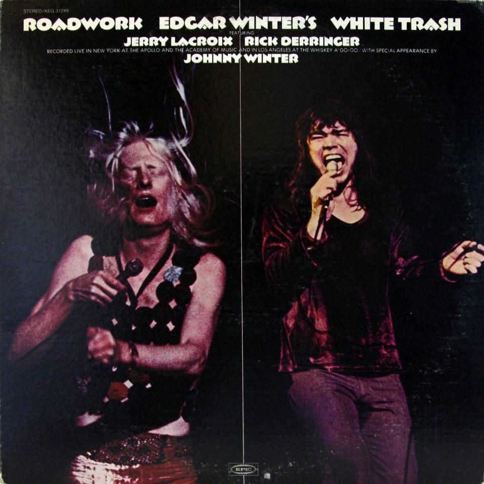 Edgar Winter - White Trash Roadwork  - Vinyl