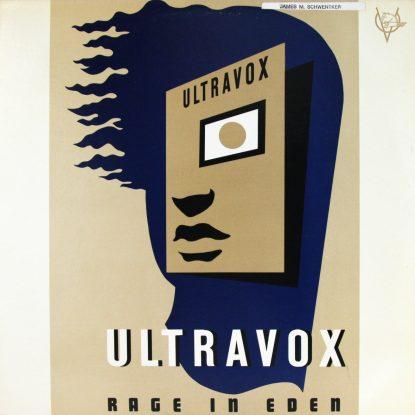 Ultravox - Rage In Eden - Vinyl