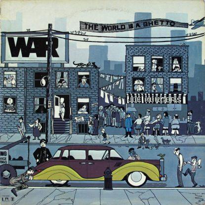 WAR - The World is a Ghetto - Vinyl