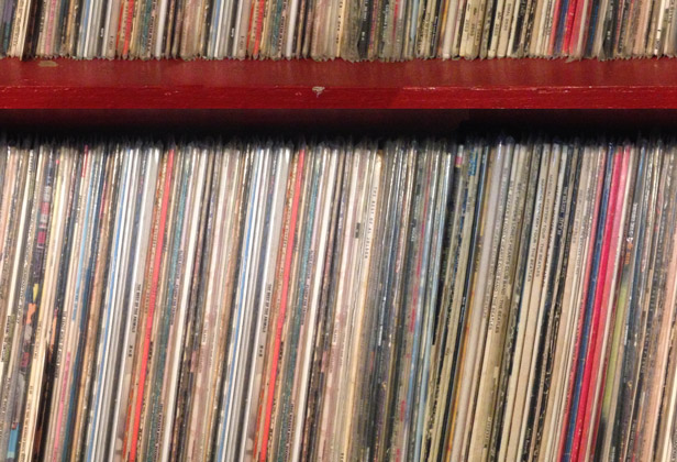 Bg Records-tiled
