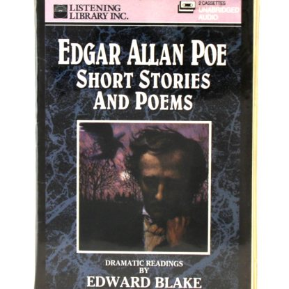 Edgar Allan Poe - Short Stories and Poems read by Edward Blake - Cassette