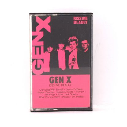 Gen X - Kiss Me Deadly - Cassette