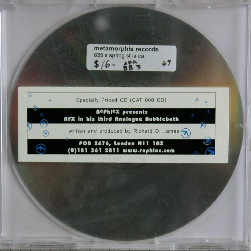 Afx - Analogue Bubblebath 3 - CD