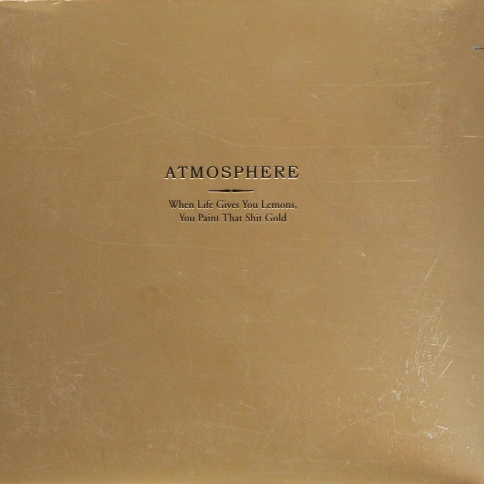 Atmosphere - When Life Gives You Lemons You Paint That Shit Gold - CD