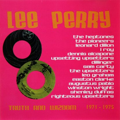 Lee Scratch Perry - Truth And Wisdom - CD