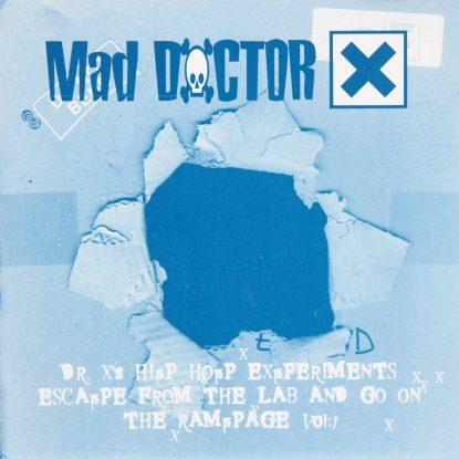 Mad Dr. X - Hip Hop Experiments - CD