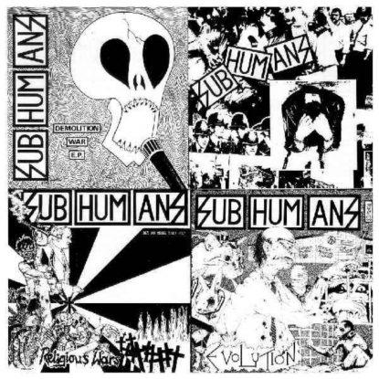 Subhumans - EpLp - CD