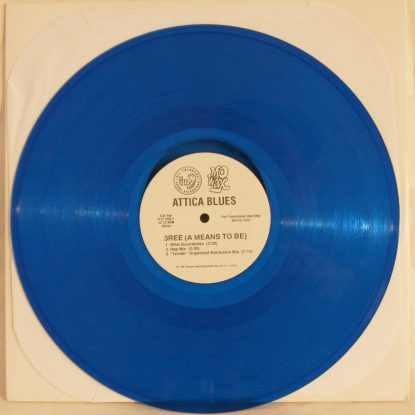 Attica Blues - White Label - Vinyl