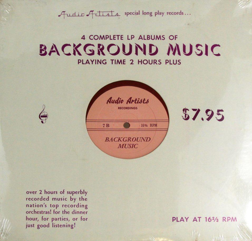 Background Music - Vinyl