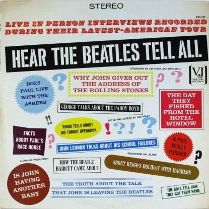Beatles - Hear the Beatles Tell All - Vinyl