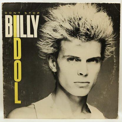 Billy Idol -  Don't Stop - Vinyl