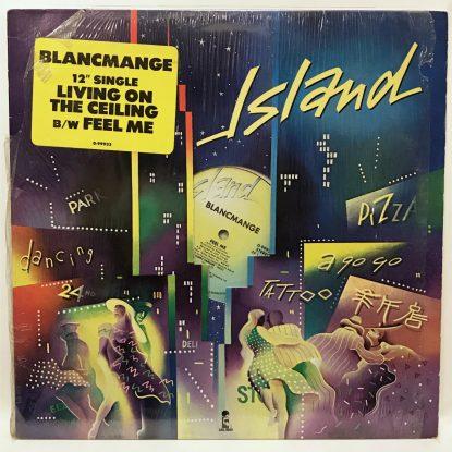 Blancmange - Living on the Ceiling b/w Feel Me  Island Single - Vinyl