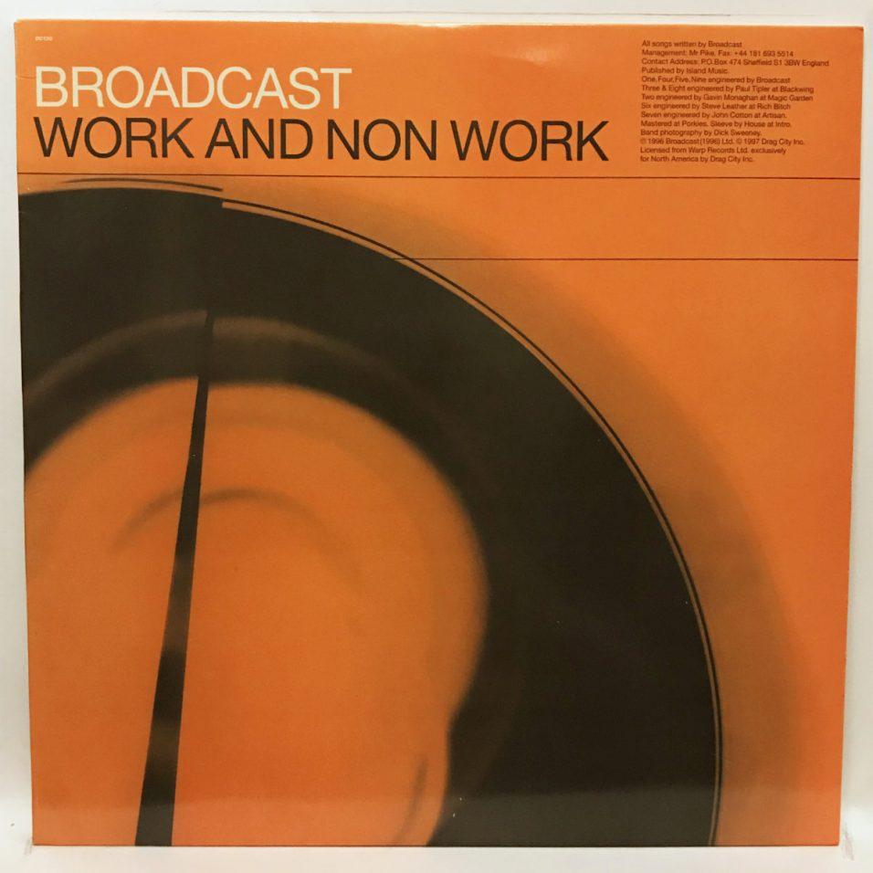 Broadcast - Work And Non Work - Vinyl