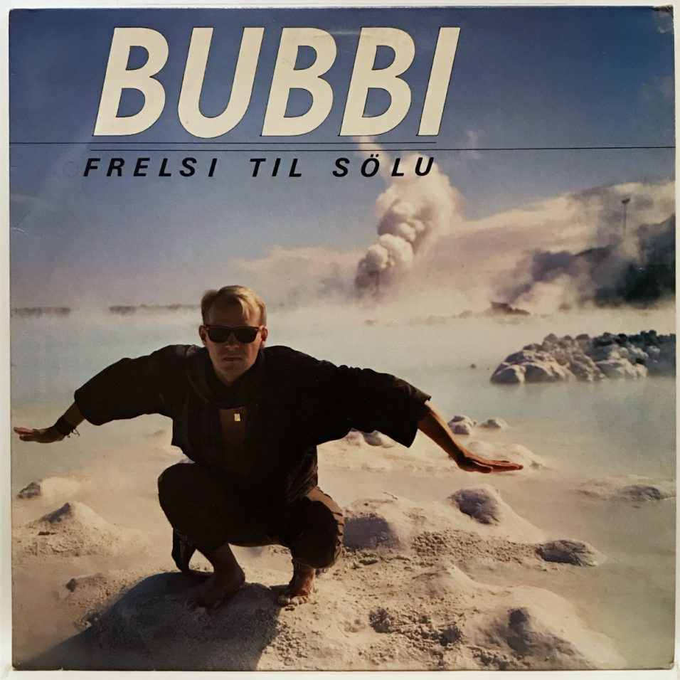 Bubbi - Frelisi Til Solu - Vinyl