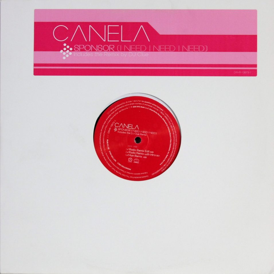 Canela - Sponsor - Vinyl