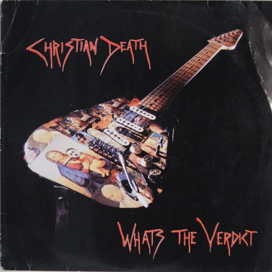 Christian Death - Whats The Verdict - Vinyl