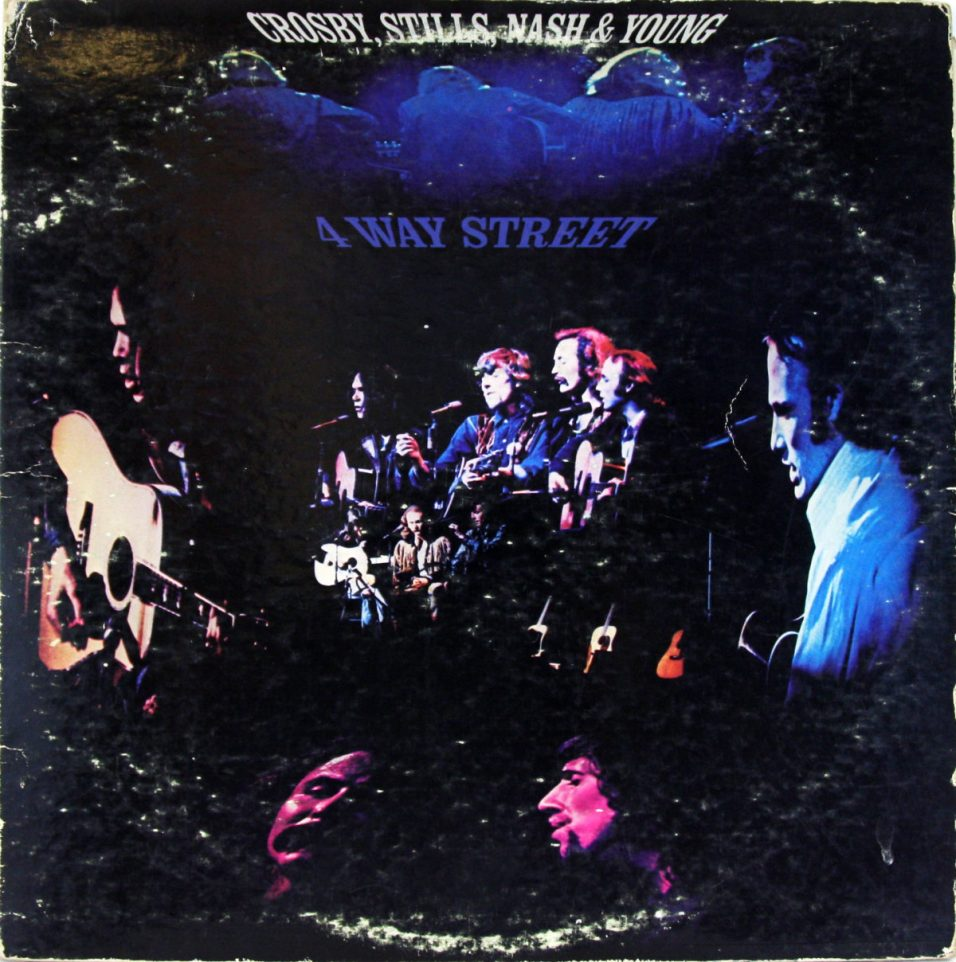 Crosby Stills Nash & Young - 4 Way - Vinyl