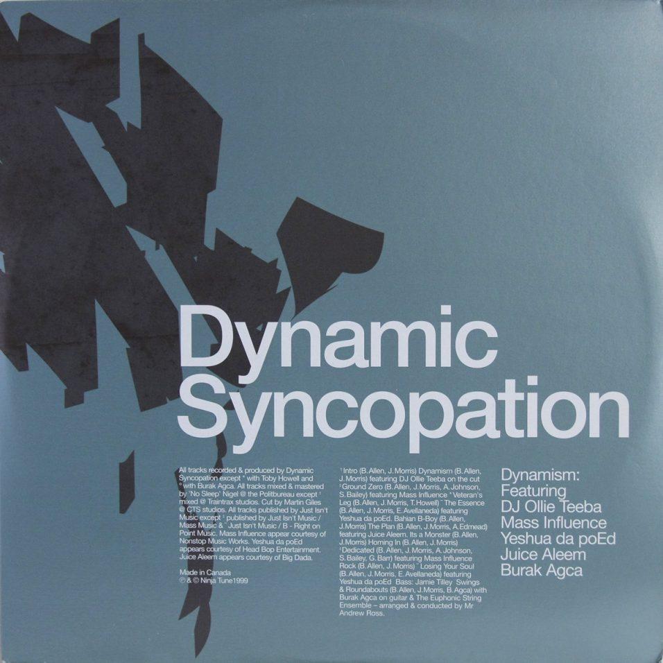 Dynamic Syncopation - Dynamism - Vinyl