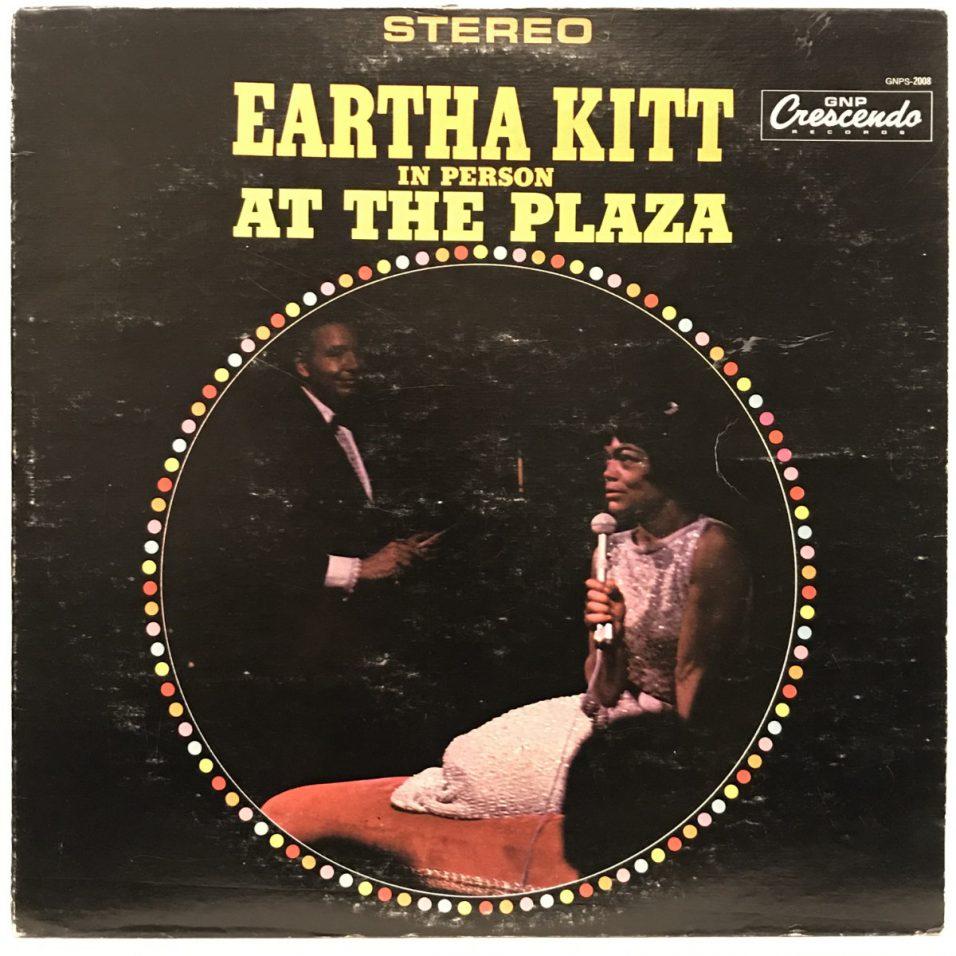 Eartha Kitt - In Person at The Plaza - Vinyl