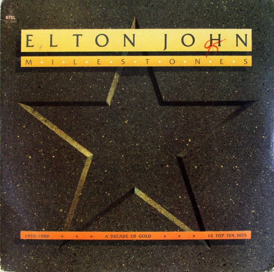 Elton John - Milestones - Vinyl