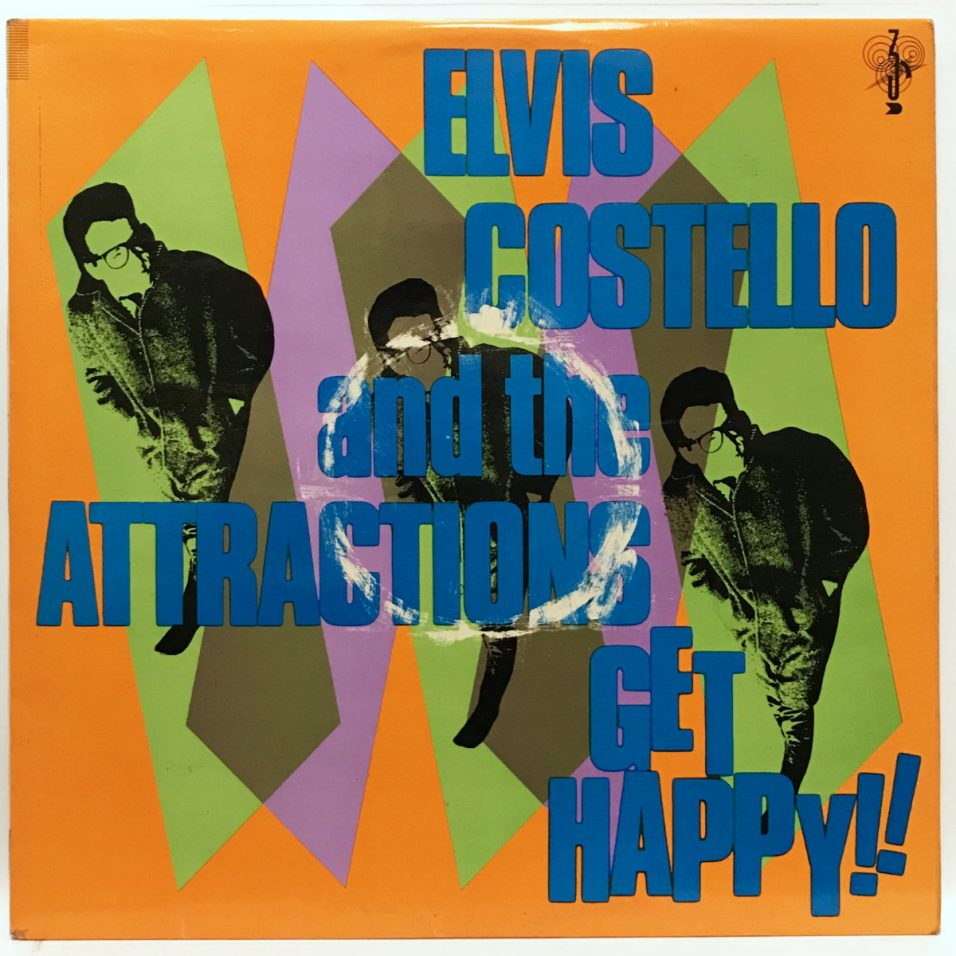 Elvis Costello and The Attractions - Get Happy - Vinyl