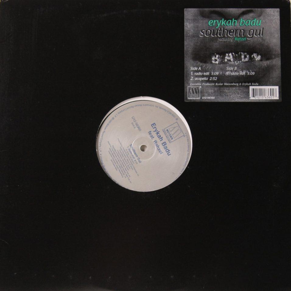 Erykah Badu - Southern Gul Single - Vinyl
