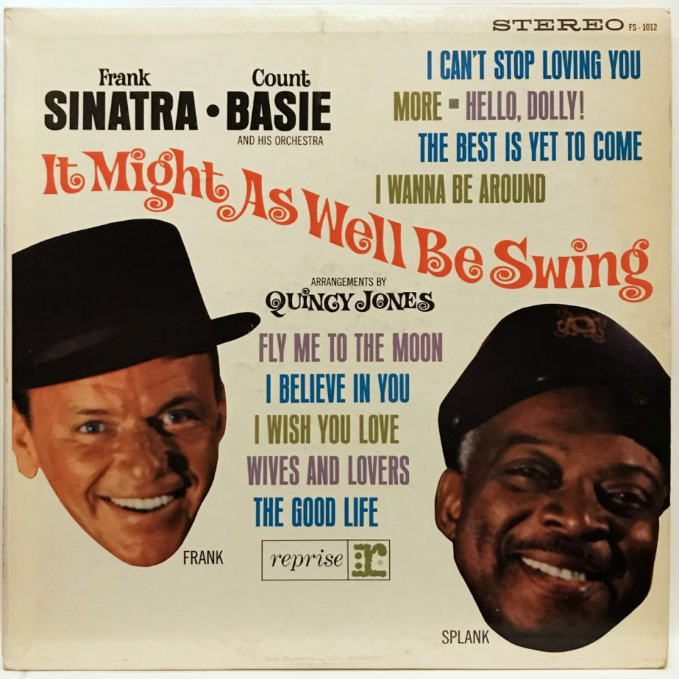 Frank Sinatra & Count Basie - It Might as Well Be Swing - Vinyl