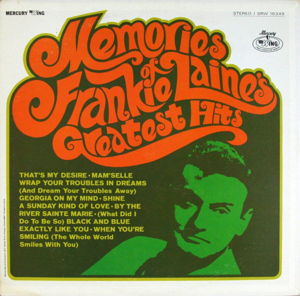 Frankie Laine - Greatest Hits - Vinyl