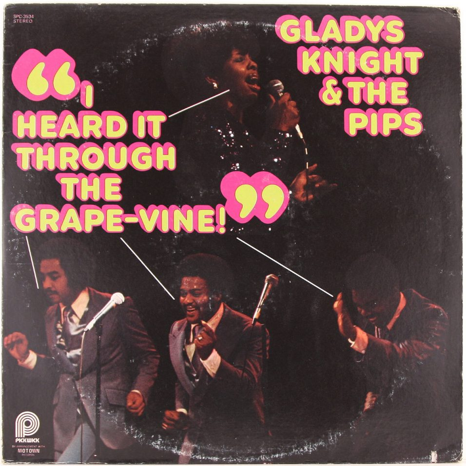 Gladys Knight and the Pips - I Heard It Through The Grapevine - Vinyl