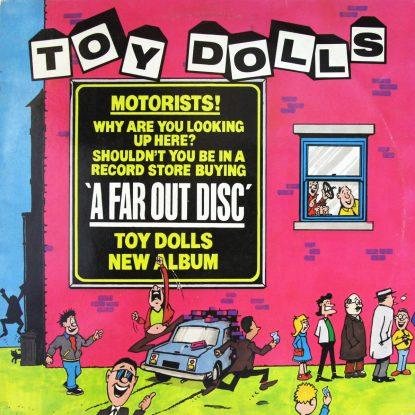 Toy Dolls - A Far Out Disc - Vinyl